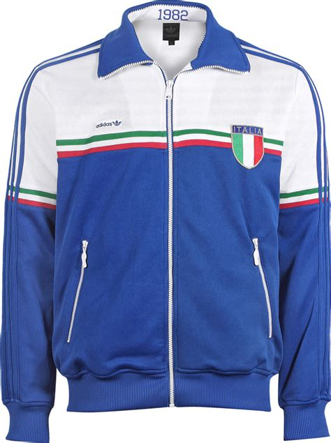 Adidas Italy 1 adidas italy tt jacke collegiate royal white im weare shop