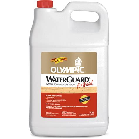 shop olympic waterguard  gallon size container clear