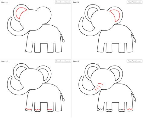 Drawing Step By Step Easy Animals by Easy Drawings Of Animals Step By Step Pencil Drawing