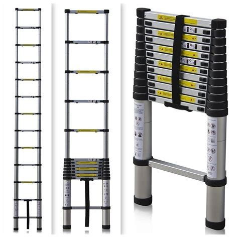 Telescoping L Changer by Telescoping Ladder 12 5 Ft 330 Lb Telescopic Rv