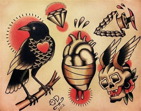 old school bird tattoo designs 27 school tattoos designs and ideas inspirationseek