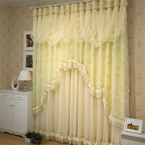 green lace curtains shop popular green lace curtains from china aliexpress