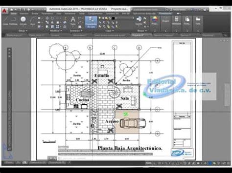 autocad javascript tutorial autocad 2015 curso basico tutorial en espa 241 ol planos