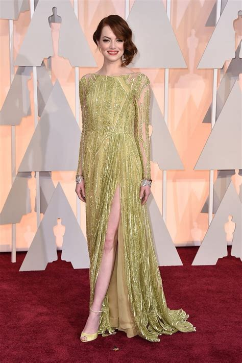 emma stone oscar emma stone s oscars 2015 red carpet dress
