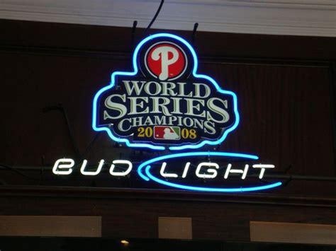 bud light baseball jersey sign bud light philadelphia phillies