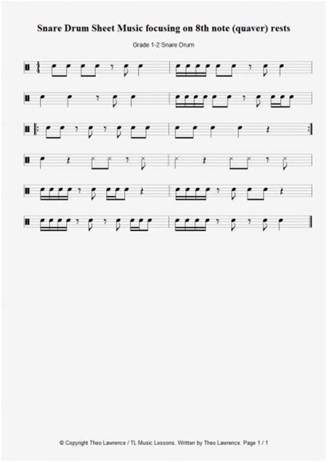 drum pattern worksheets free drum set sheet music for beginners beginner drum
