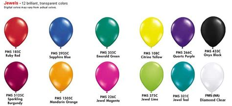 jewel tones colors jewel tone colors color chart arches balloon decor
