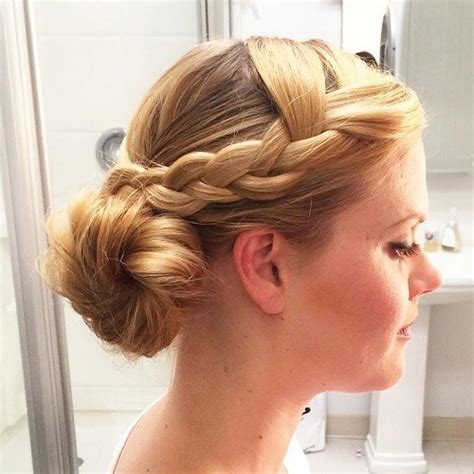 hairstyles blonde mesh chignon side updos that are in trend 40 best bun hairstyles for 2018