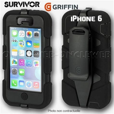 Iphone 6 4 7 Griffin Survivor coque iphone 6 griffin survivor