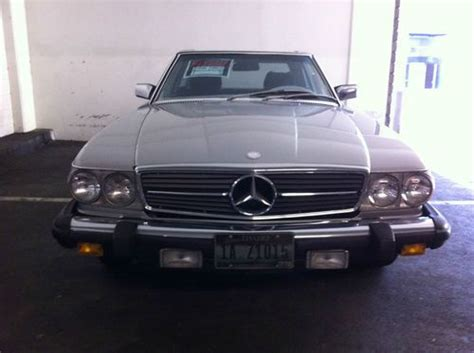 accident recorder 1984 mercedes benz sl class auto manual purchase used clean classic 1984 mercedes 380 sl in los angeles california united states for