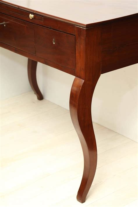 curved leg console table 18th century italian walnut desk console table with curved