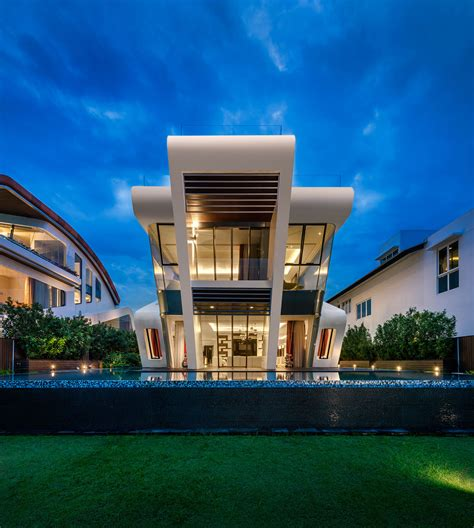 pattern labs singapore one of a kind modern residential villa in singapore