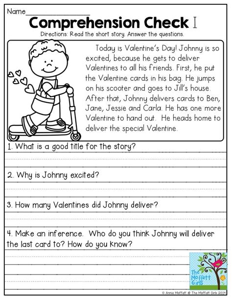 the best seat in second grade comprehension questions 44 best reading comprehension images on