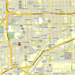 Chicago Tollway Map by Contact Largen
