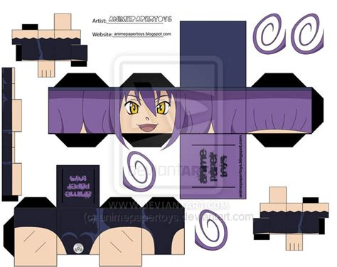 Soul Eater Papercraft - blair soul eater papertoy by animepapertoys on deviantart