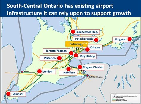 map of airports in usa and canada regional growth toronto pearson