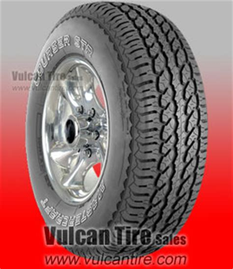 mastercraft courser str  sizes tires  sale  vulcan tire