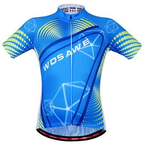 pattern cycling jersey 2018 fashionable 3d geometry pattern short sleeve summer
