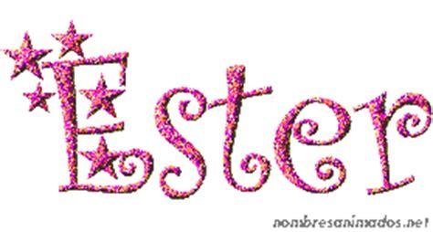 significado nombre ester gifs animados nombre ester 0553
