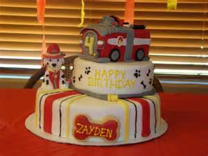 Fire theme cakes on pinterest fire truck cakes paw patrol cake and