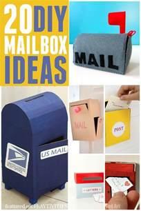20 cutest mailbox ideas playtivities