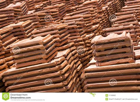 Handmade Roof Tiles - sri lankan handmade roof tiles stock photography image