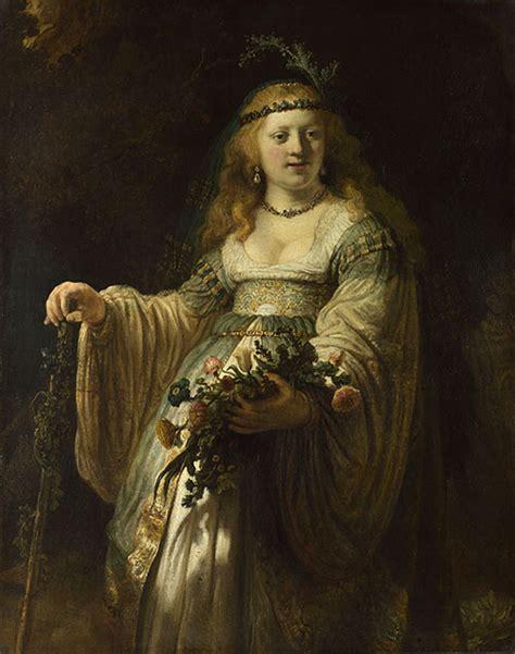 Princess Zaskia rembrandt saskia in arcadian costume colourlex and science