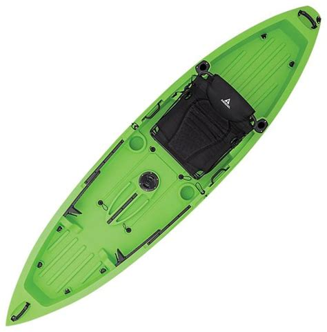 backyard pro troline ascend fs10t sit on top kayak lime white bass pro