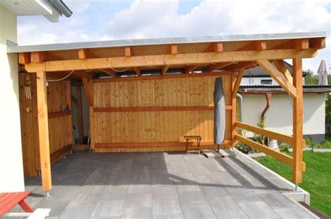 carport selber konstruieren schimmel pilz am holz dach der terrassen 252 berdachung