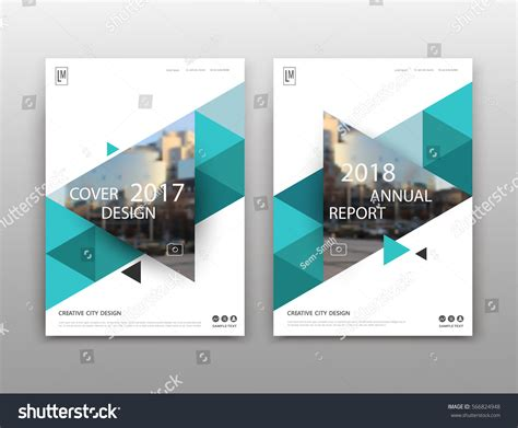 brochure layout text abstract binder layout white a4 brochure stock vector