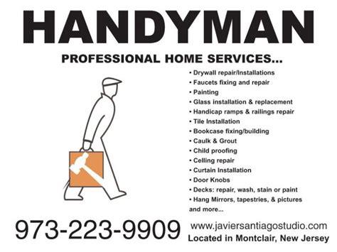 handyman services in montclair 973 223 9909 montclair nj patch