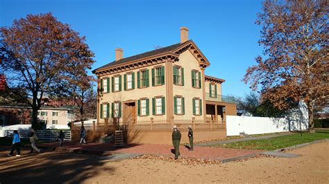 lincoln home national historic site springfield illinois