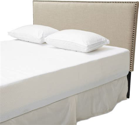 Adjustable Headboards by Westin King To Cal King Adjustable Beige Fabric