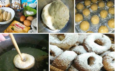 membuat donat pisang resep membuat donat pisang empuk banget mirip donat jco