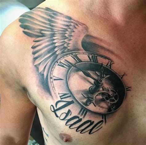 half chest tattoos for men top 51 best chest tattoos for 2018 page 2 of 5