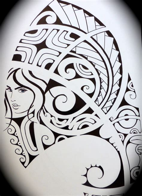 tattoo drawing polynesian drawing drawings