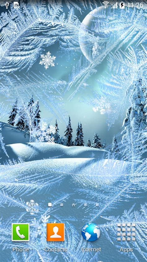 wallpaper for android winter winter night wallpaper android apps on google play