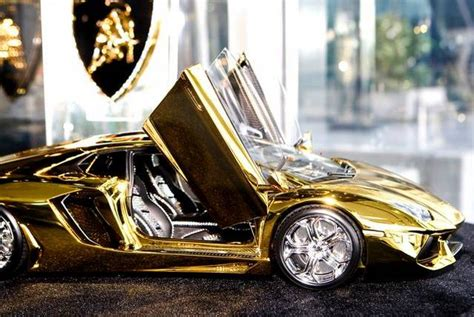 lamborghini gold and diamonds 46 crore rupees gold lamborghini aventador awaits new