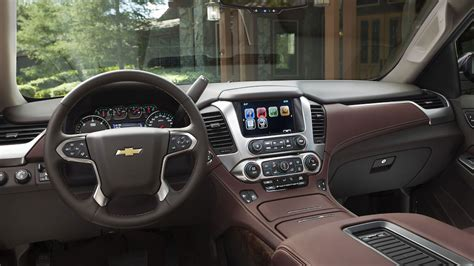 Chevrolet Tahoe Interior Pictures by The 2016 Chevy Tahoe Is The Best Size Suv For Your Money
