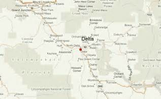 delta county colorado map delta colorado location guide