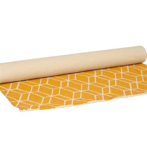 Yellow Runner Rug Yellow Geometric Runner Rug
