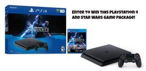 Ps4 Contest Giveaway - sweepstakes advantage ps4 giveaway win a playstation 4 star wars game bundle