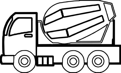 waste truck coloring at yescoloring construction page