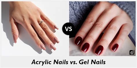 Gel Acrylic Nails by Gel Nails Vs Acrylic Nails Vs Shellac Nails Gallery