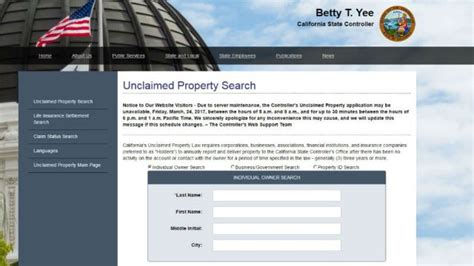 Ca Property Records California Holding To 8 Billion In Unclaimed Property 171 Cbs San Francisco