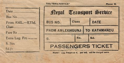 couch tickets file bus ticket of nepal transport service jpg wikipedia