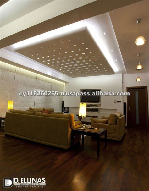 interior design perforated plasterboards gypsum boards