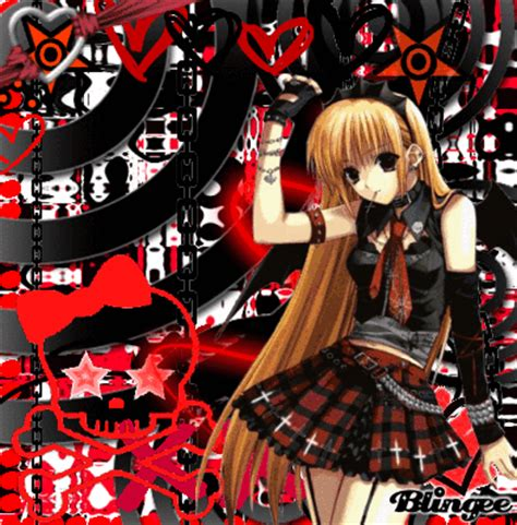 imagenes anime emo punk emo punk and anime picture 115390692 blingee com