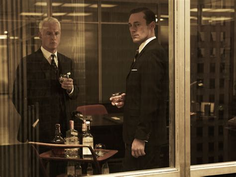 from don draper to roger sterling get the mad men look for your mad men season 5 cast photos don draper joan harris