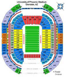University Of Phoenix Stadium Parking Map by Arizona Cardinals Tickets Arizona Cardinals Event Tickets